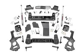 88-98 Chevy Silverado/GMC Sierra 1500 4 inch Rough Country Lift Kit - Elite Auto Customs