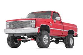77-87 Chevy Silverado/GMC Sierra 3/4-Ton 4 inch Rough Country Lift Kit - Elite Auto Customs
