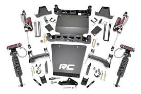 14-18Chevy Silverado/GMC Sierra 1500  7 inch Rough Country Lift Kit - Elite Auto Customs