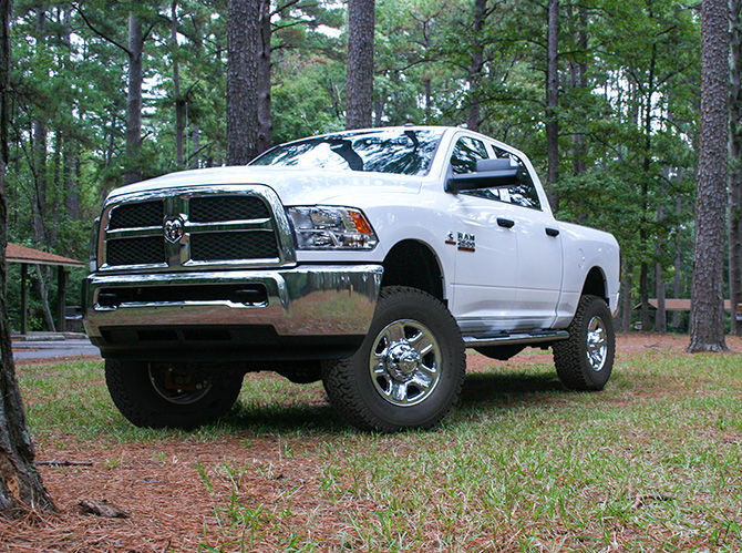 2.5in Dodge Leveling Coil Spacers (14-18 Ram 2500 | 13-18 Ram 3500 4WD) - Elite Auto Customs