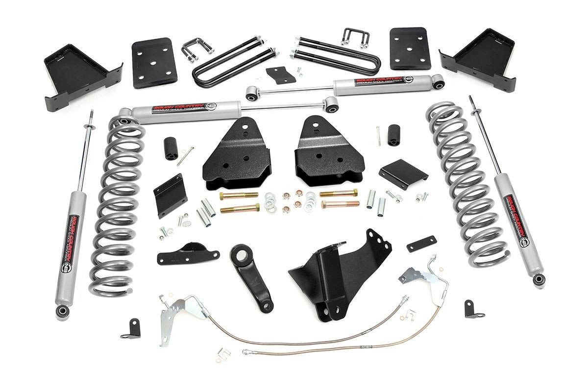 6IN FORD SUSPENSION LIFT KIT (11-14 F-250 4WD | GAS | OVERLOADS) - Elite Auto Customs