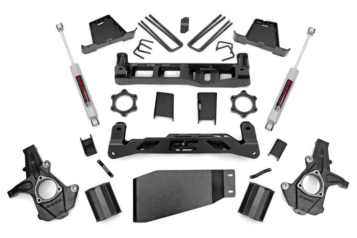 07-13 Chevy Silverado/GMC  Sierra 1500 7.5 inch Rough Country Lift Kit - Elite Auto Customs