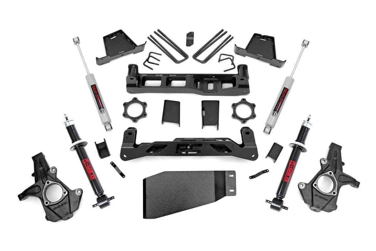 7.5IN GM SUSPENSION LIFT KIT | LIFTED STRUTS (07-13 1500 PU) - Elite Auto Customs