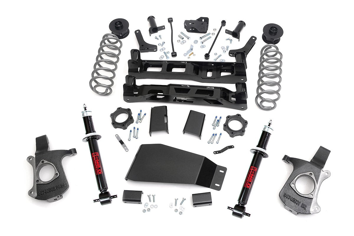 07-13 Chevy Silverado/GMC Sierra 7.5 inch Rough Country Lift Kit - Elite Auto Customs
