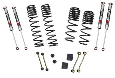 "18-Current JEEP  Wrangler Rubicon Express Skyjacker 2-2.5"" Dual Rate-Long Travel Lift Kit System with M95 Shocks (Rubicon Models) - JL20RBPMLT - Elite Auto Customs"