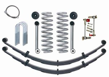 1984 JEEP Rubicon Express 3.5 Inch Super-Flex Short Arm Lift Kit with Rear Leaf Springs - No Shocks - Elite Auto Customs
