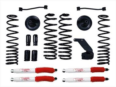 2018 JEEP Rubicon Express Lift Kit w/Shock - Elite Auto Customs