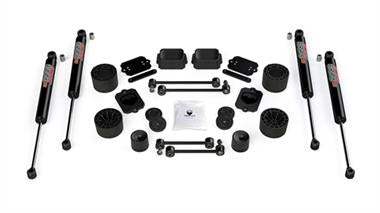 2019 JEEP Rubicon Express TeraFlex 2.5 Inch Performance Spacer Lift Kit with 9550 VSS Twin-Tube Shocks - 1365250 - Elite Auto Customs