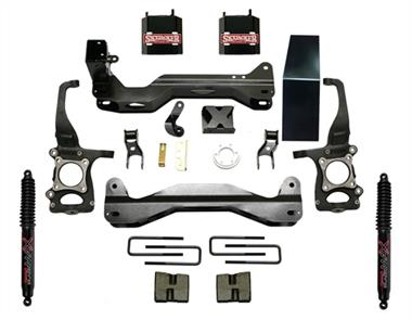2014 Ford Pro Comp Skyjacker 6 Inch Suspension Lift Kit with Black MAX Shocks - F960BKB - Elite Auto Customs