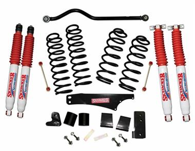 "2018 Jeep Skyjacker 4"" Softride Lift Kit with Nitro 8000 Shocks - Elite Auto Customs"