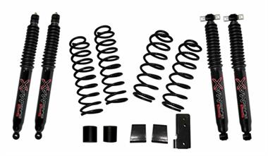 2018 Jeep Skyjacker 2-.2.5 Inch Softride Lift Kit with Black MAX 7000 shocks - JK200BPBSR - Elite Auto Customs