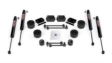 2019 JEEP Rubicon Express TeraFlex 2.5 Inch Performance Spacer Lift Kit with 9550 VSS Shocks - 1365260 - Elite Auto Customs