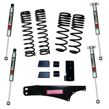 "2018 Jeep Skyjacker Skyjacker 2-2.5"" Dual Rate Long Travel Lift Kit With M95 Monotube Shocks - JK20BPMLT - Elite Auto Customs"