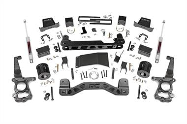 "2018 Ford Rubicon Express Rough Country 6"" Ford Suspension Lift Kit with N3 Shocks - 557.22 - Elite Auto Customs"