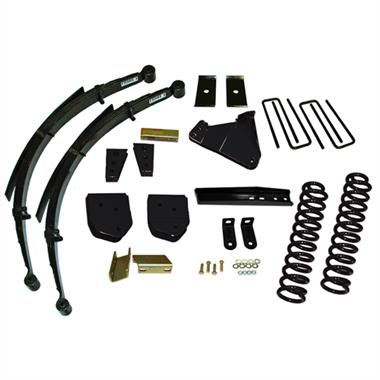 2012 Ford Pro Comp 4 Inch Lift Kit with Nitro Shocks - Elite Auto Customs