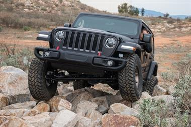 "18-Current JEEP  Wrangler Rubicon Express Icon Suspension 2.5"" Stage 2 Suspension System with Lower Link Kit - 22012 - Elite Auto Customs"