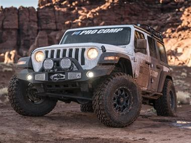 "2019 JEEP Rubicon Express Genuine Package 2"" Spacer Lift with BFG KM3 and Pro Comp 69 Series Vintage Wheels - JLSPECIAL - Elite Auto Customs"