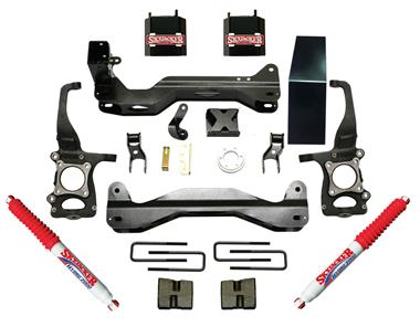 2014 Ford Skyjacker Suspension Lift Kit w/Shock - Elite Auto Customs