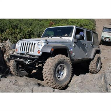 2007-2016 JEEP  Wrangler Rubicon Express Stage 1 Suspension System, 2 Inch Lift Kit - Elite Auto Customs