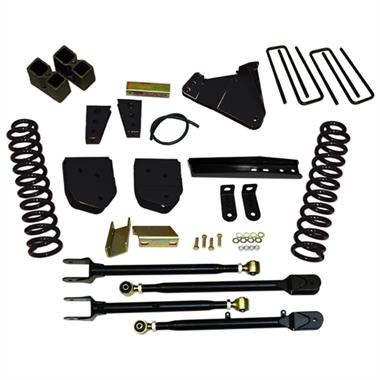 2012 Ford Pro Comp 6 Inch Class II Lift Kit with Hydro Shocks - Elite Auto Customs