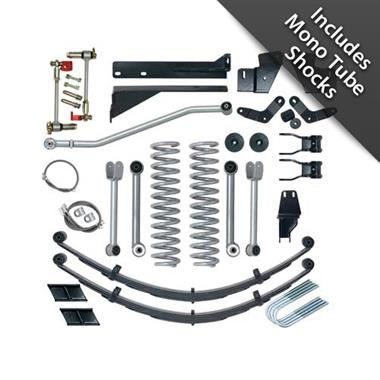 1984 JEEP Rubicon Express 5.5 Inch Extreme-Duty Short Arm Lift Kit with Mono Tube Shocks - Elite Auto Customs