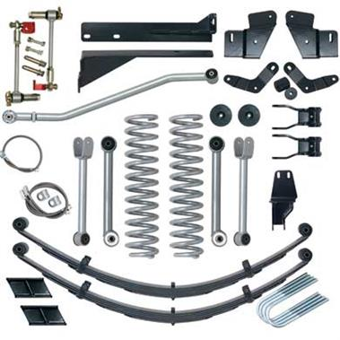 1984 JEEP Rubicon Express 5.5 Inch Extreme-Duty Short Arm Lift Kit - No Shocks - Elite Auto Customs