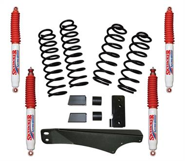 2018 Jeep Skyjacker 2.5 Inch Softride Lift Kit with Nitro 8000 Shocks - Elite Auto Customs
