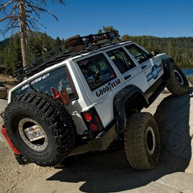 1984 JEEP Rubicon Express 5.5 Inch Extreme-Duty Long Arm Lift Kit with Mono Tube Shocks - Elite Auto Customs