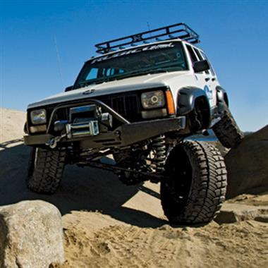 1984 JEEP Rubicon Express 5.5 Inch Extreme-Duty Long Arm Lift Kit - No Shocks - Elite Auto Customs