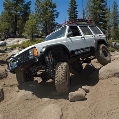 1984 JEEP Rubicon Express 7.5 Inch Extreme-Duty Long Arm Lift Kit - No Shocks - Elite Auto Customs