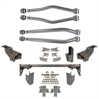 2007-2016 JEEP  Wrangler Rubicon Express Rear Stretch Complete Suspension System with Bolt-On Lower Shock Mounts - Elite Auto Customs
