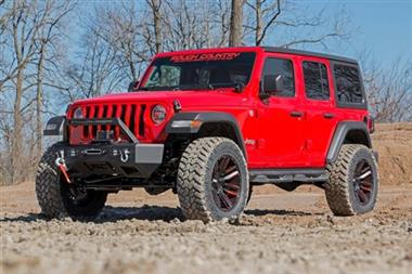 "18-Current JEEP  Wrangler Rubicon Express Rough Country 3.5"" Jeep Suspension Lift Kit with N3 Shocks - 66830 - Elite Auto Customs"