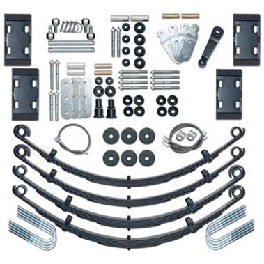 1976 JEEP Rubicon Express 4.5 Inch Extreme-Duty Leaf Spring Lift Kit - No Shocks - Elite Auto Customs