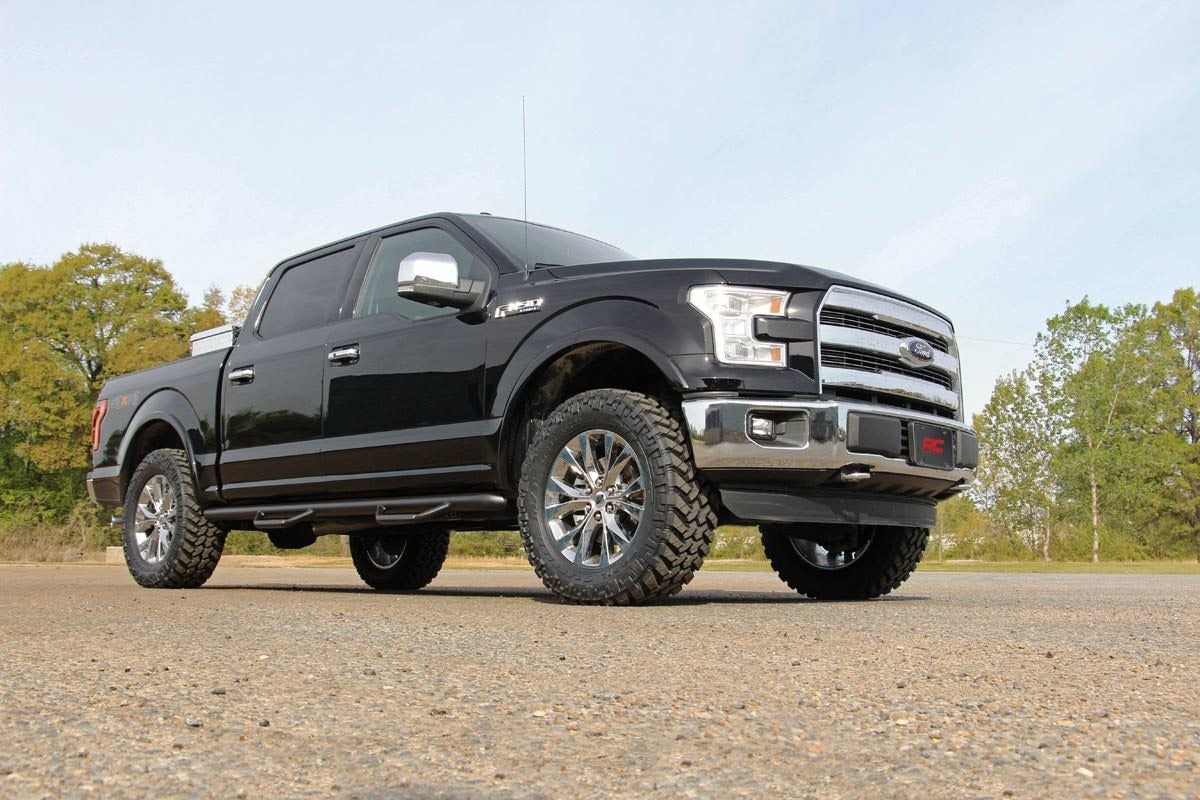 2IN FORD LEVELING BILLET STRUT EXTENSIONS (14-19 F-150) - Elite Auto Customs