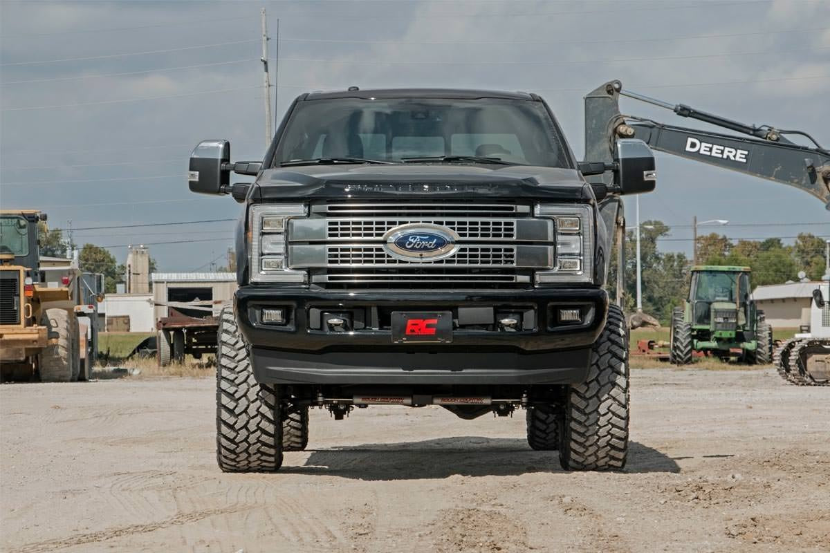 6IN FORD SUSPENSION LIFT KIT (17-19 F-250 4WD W/OVERLOADS | DIESEL) - Elite Auto Customs