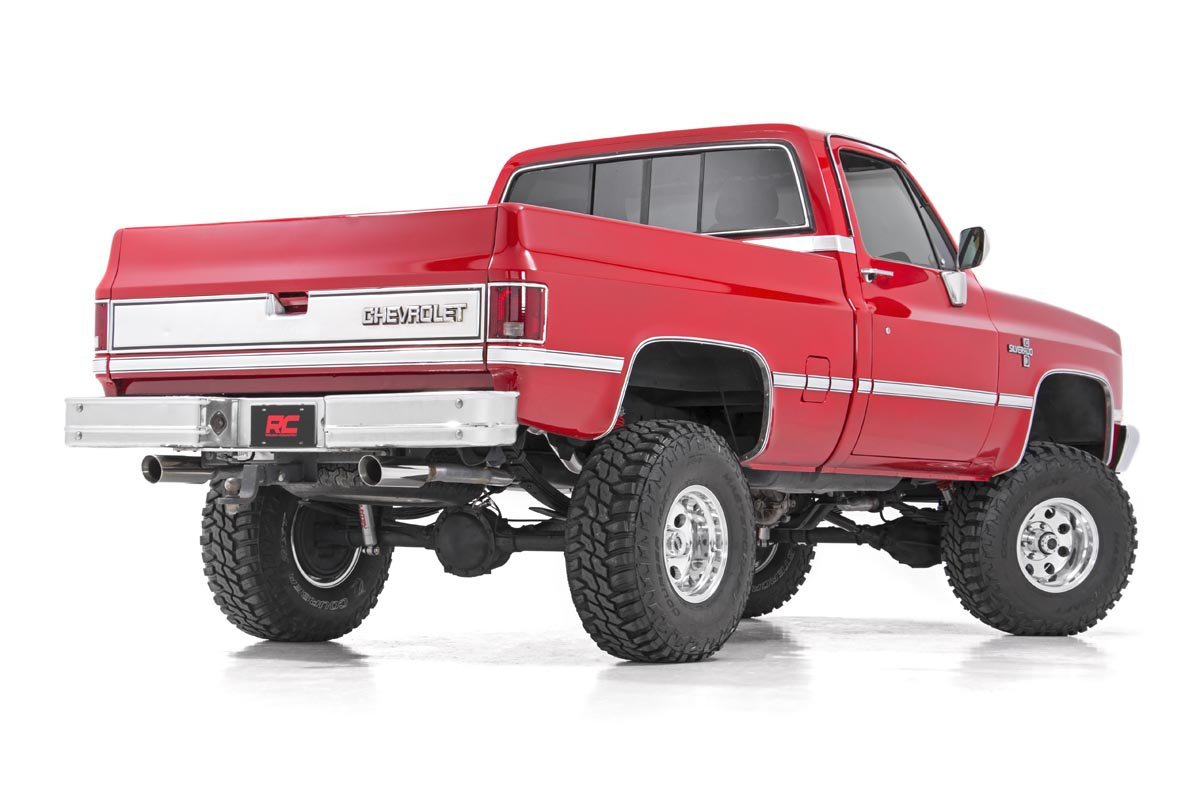 73-76 Chevy Silverado/GMC Sierra 3/4-Ton   6 inch Rough Country Lift Kit - Elite Auto Customs