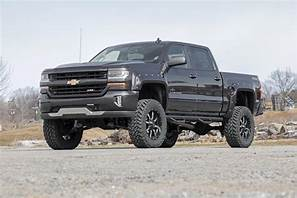 14-18 Chevy Silverado/GMC Sierra1500 7 inch Rough Country Lift Kit - Elite Auto Customs