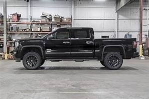 07-16 Chevy Silverado/GMC Sierra 1500 3.5 inch Rough Country Lift Kit - Elite Auto Customs