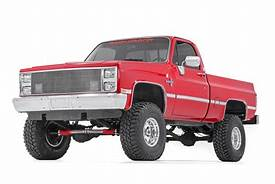 88-91 Chevy Silverado/GMC Sierra 3/4-TON 4 inch Rough Country Lift Kit - Elite Auto Customs
