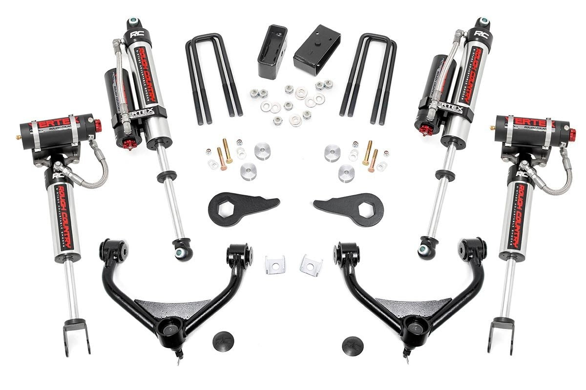 11-19 Chevy Silverado/ GMC Sierra 2500/3500HD 3.5 inch Rough Country Lift Kit - Elite Auto Customs