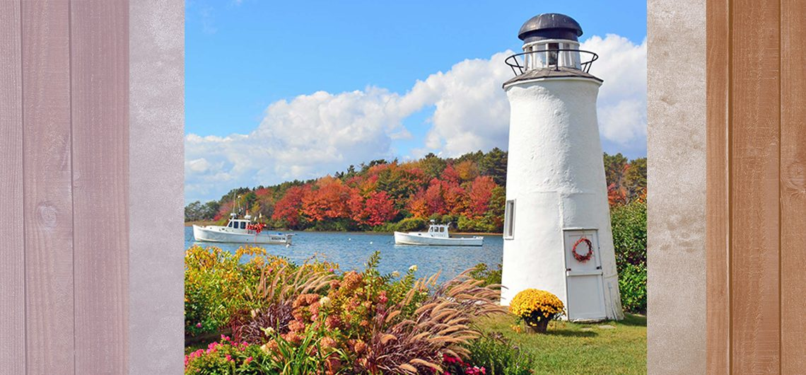 Lighthouse in Kennebunkport, Maine