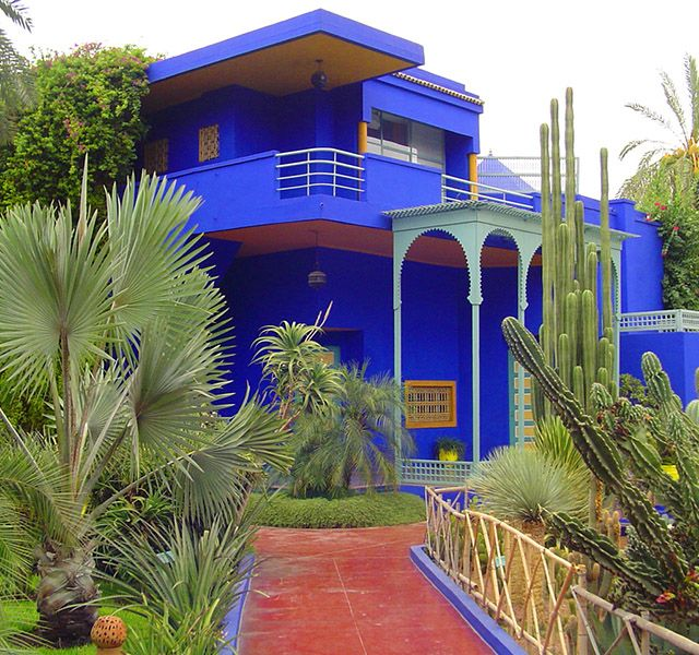 Marrakech travel guide - Majorelle Gardens in Marrakech