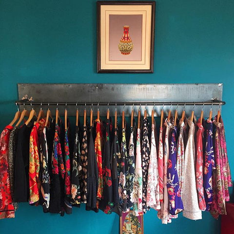 Marrakech travel guide - Rack of Stylish Clothing