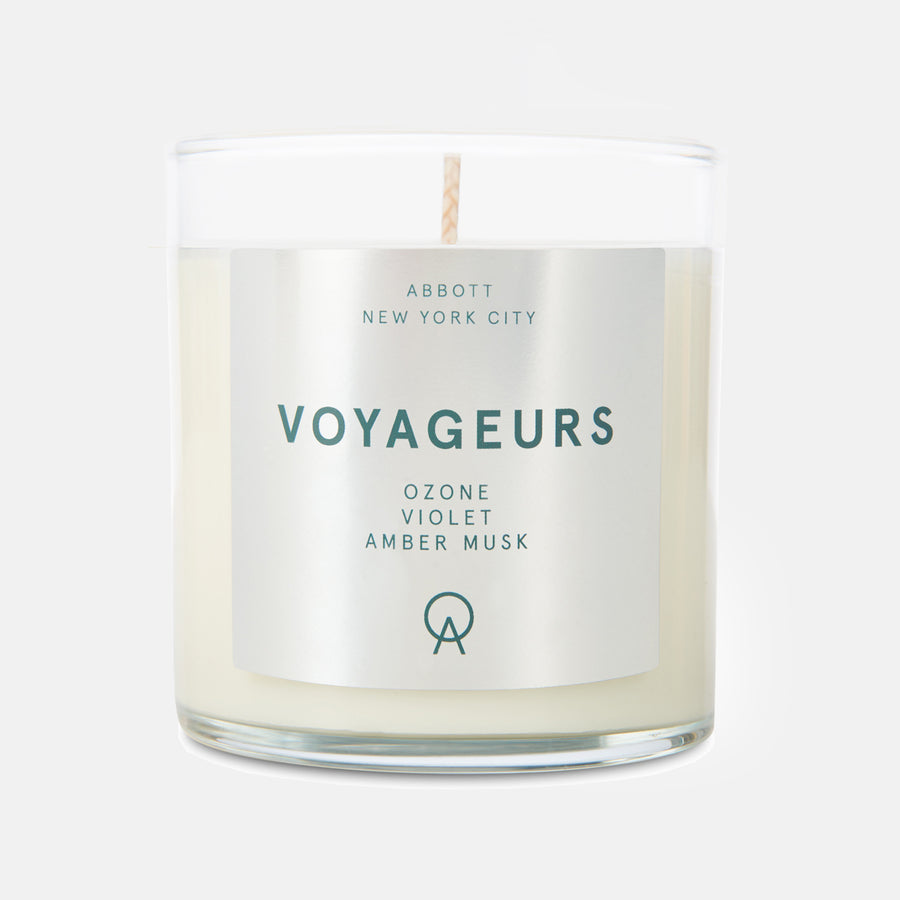 Voyageurs candle