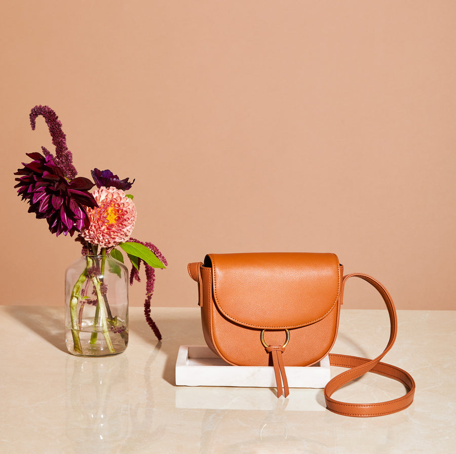 Ivy Leather Crossbody