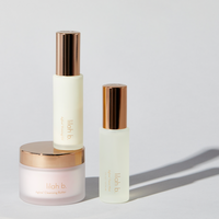 lilah b. Aglow™ Cleansing Butter, Aglow™ Priming Oil, and Aglow™ Face Mist