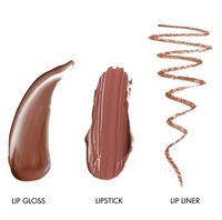 LORAC x Rachel Zoe Alter Ego Golden Era Lip Set (lipstick, lip gloss and lip liner)
