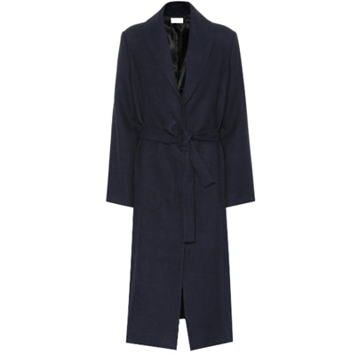 Navy Robe Coat