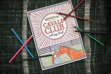 The Cavali Club Coloring book