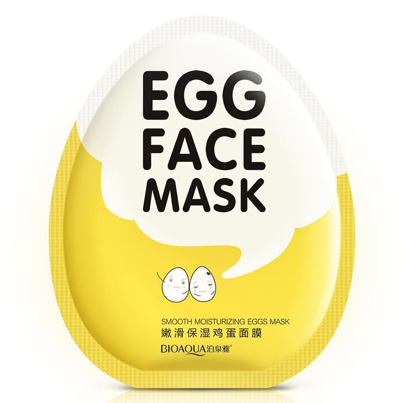 Egg Facial Mask Smooth Moisturizing Face Mask Oil Control Shrink